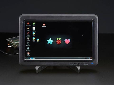 "10.1"" 1366x768 Display IPS + Speakers - HDMI/VGA/NTSC/PAL"