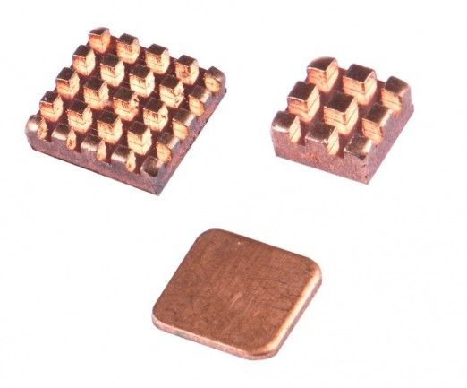 Copper HeatSink Cooling Kit for Raspberry Pi