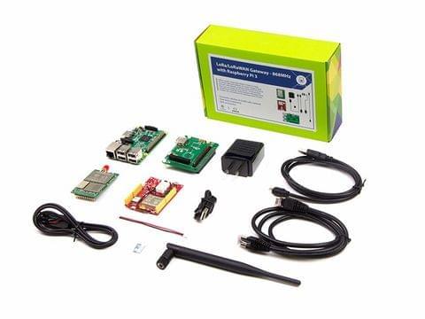 LoRa LoRaWAN Gateway - 868MHz Kit with Raspberry Pi 3