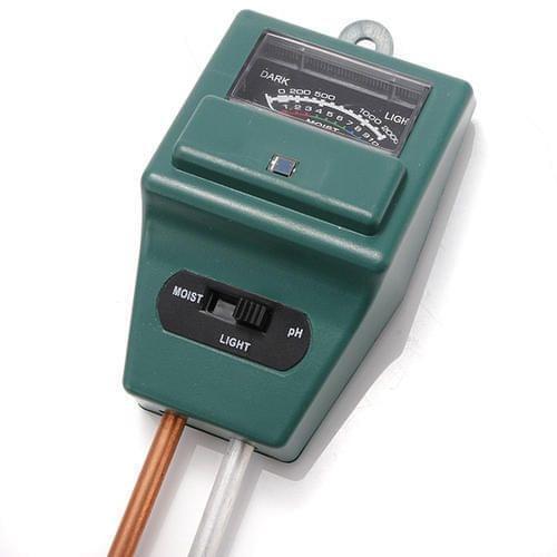 PH Tester Soil Water Moisture Light Test Meter Sensor