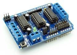 L293D Based Arduino Motor Shield