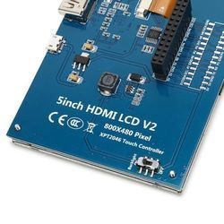 5inch Touch Screen LCD for Raspberry Pi with HDMI Interface