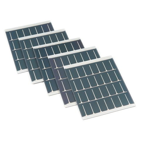 PowerFilm Solar Panel - 50mA@4.8V w/PSA & Kynar (5 Pack)