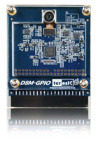 8 Mega Pixel Digital Camera Board with GPIO Interface From Terasic Inc.