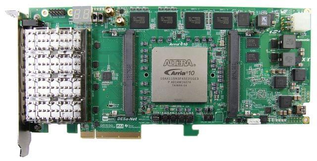 Arria 10 Device Family - DE5a-Net FPGA Development Kit From Terasic Inc.