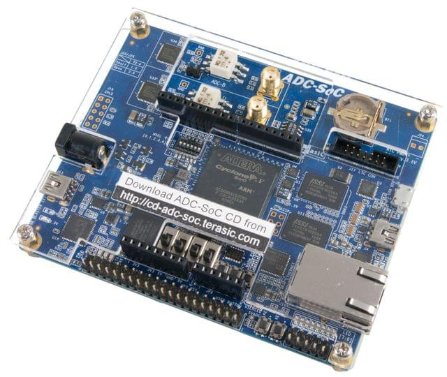 Cyclone V SoC high-speed ADC Development Kit (ADC-CoC) From Terasic Inc.