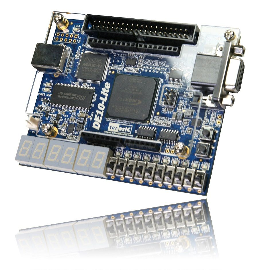 Max 10 Device Family - DE10-Lite Board From Terasic Inc.