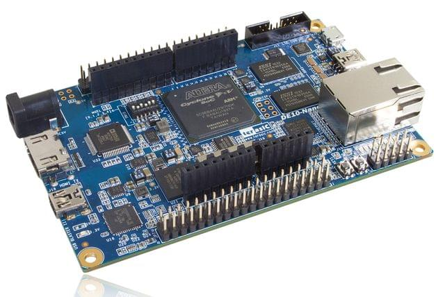 Terasic Cyclone V SoC Starter Kit (DE10-Nano) From Terasic Inc.