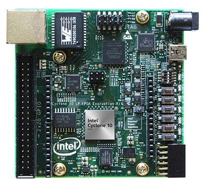 Intel® Cyclone® 10 LP FPGA Evaluation Kit