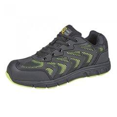 Grafters Herren Super Light Zehen Kappe Safety Trainers