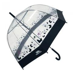 Trespass Papillon transparenter Regenschirm