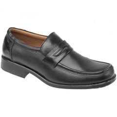 Amblers Manchester Herren Leder Slipper / Schuhe