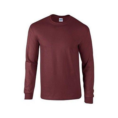Gildan Ultra Herren T-Shirt mit Rundhalsausschnitt, langärmlig