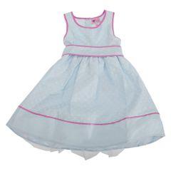 Mädchen Sommerkleid gemuster mit Schleifchen, für besondere Anlässe