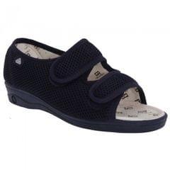 Celia Ruiz Damen Sandale / Schuh mit Klettverschluss, weite Passform