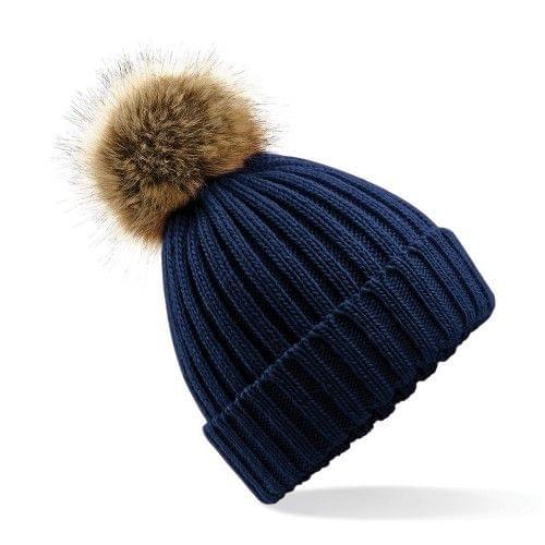 Beechfield Unisex Winter Bommel Mütze