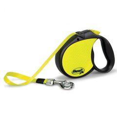 Bogdahn International Flexi Neon Reflect Roll Hunde Leine