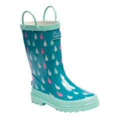 Regatta Great Outdoors Kinder Gummistiefel Minnow mit Muster