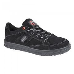 Grafters Herren Skate Type Zehen Kappe Safety Trainers
