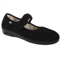 Celia Ruiz Damen Mary-Jane-Schuhe / Schuhe mit Klettverschluss, weite Passform