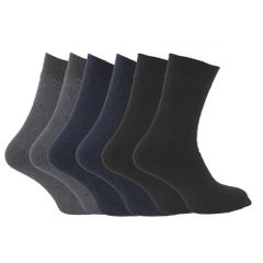 FLOSO Herren Thermo Socken, Multipack, 6-er Pack