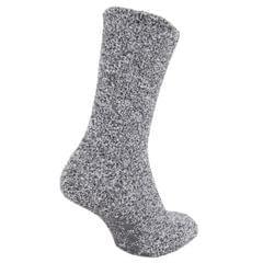 Herren Hausschuh-Socken / Socken mit Anti-Rutsch Gummi-Sohle, besonders warm