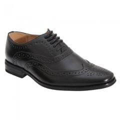 Goor Jungen 5 Ösen Brogue Oxford Schuhe
