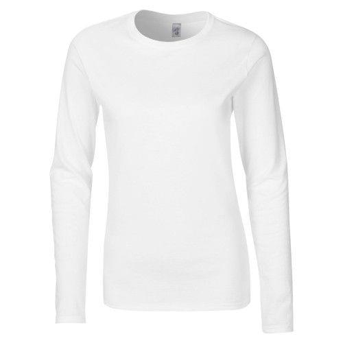 Gildan Damen Langarm T-Shirt / Sweatshirt