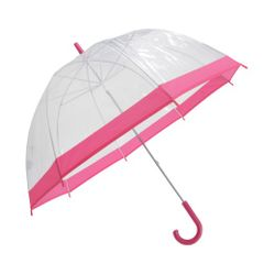 Unisex Transparent Dome Walking Regenschirm