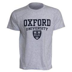 Herren T-Shirt mit Oxford-University-Aufdruck, kurzärmlig, Rundhals