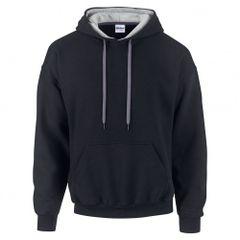 Gildan Heavy Blend Contrast Herren Kapuzenpullover / Hoodie / Kapuzensweater