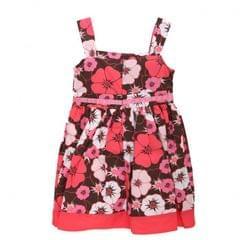 Mädchen Sommerkleid mit Blumenmuster