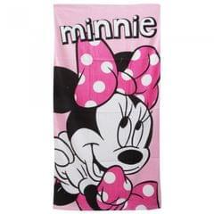 Disney Minnie Mouse Mädchen Bade-/Strandtuch Pink