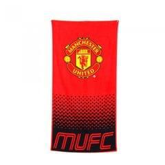 Manchester United FC Fade Fußball Wappen Strand-Tuch
