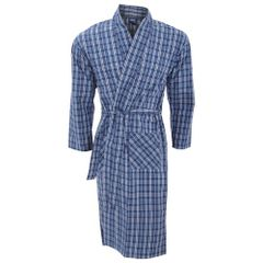 Herren Kimono Morgenmantel mit Muster