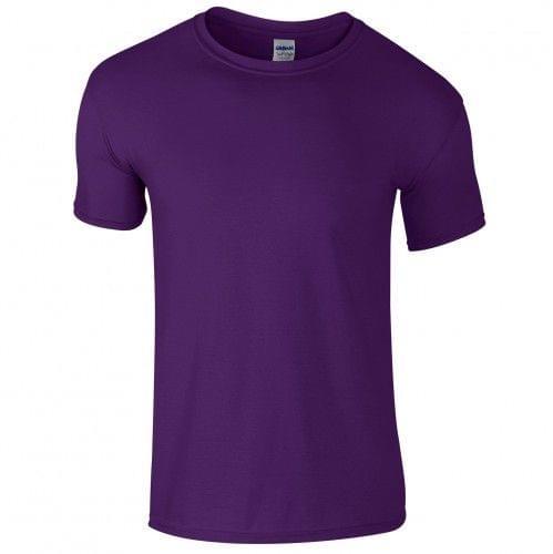 Gildan Soft-Style Herren T-Shirt, Kurzarm, Rundhalsausschnitt