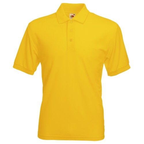 Fruit Of The Loom 65/35 Herren Piqué Polo-Shirt, Kurzarm