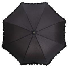 Damen Regenschirm mit Rüschen