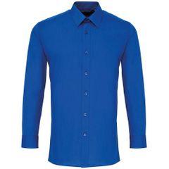 Premier Herren Popelin Hemd, langärmlig