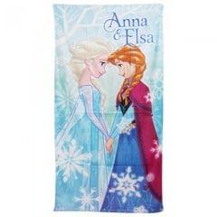 Disney Frozen Mädchen Bade- / Strandtuch, Anna & Elsa