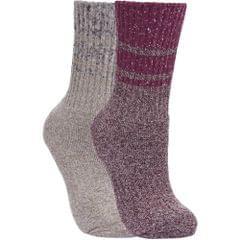 Trespass Damen Hadley Socken / Wandersocken, 2 Paar