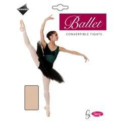 Silky Damen Ballett-Strumpfhosen mit variabler Fußöffnung