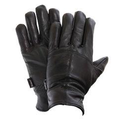 FLOSO Herren Schafleder Handschuhe, gefüttert (3M 40g)