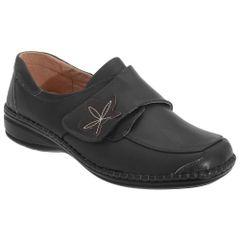 Boulevard Damen Schuhe / Freizeitschuhe mit Klettverschluss, weite Passform