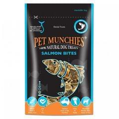 Pet Munchies Hunde-Kauleckerli aus natürlicher Lachshaut