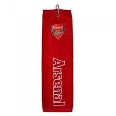 Arsenal FC Trifold Golf Club Handtuch mit Club Wappen