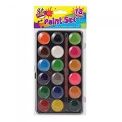 ArtBox 18 Wasser Malfarben und Pinsel