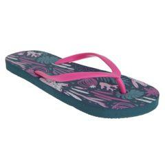 Sand Rocks Womens/ Damen Cacti Flip Flops
