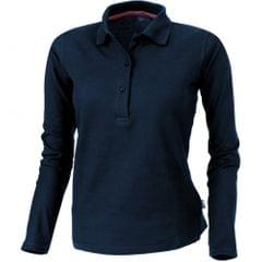Slazenger Damen Point Langarm Polo Shirt