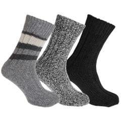 Floso Unisex Socken für Erwachsene, 3 Paar